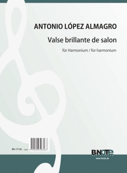 López Almagro: Valse brillante de salon pour harmonium