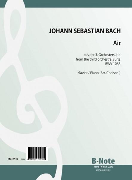 Bach: Air aus der 3. Orchestersuite BWV 1068 (Arr. Klavier)