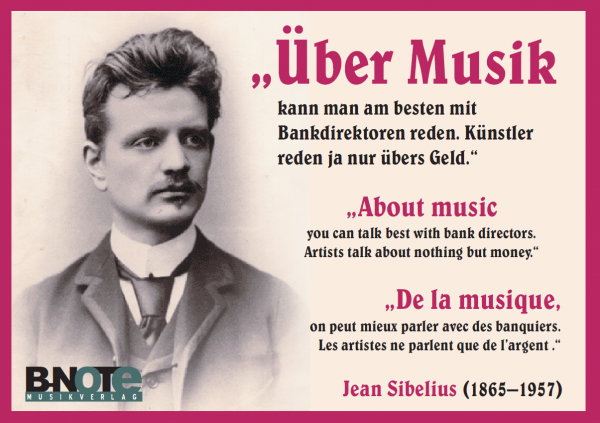 Post card: About music ...