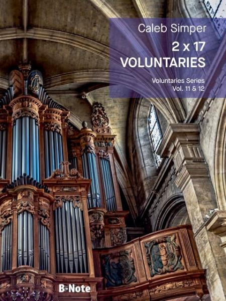 Simper: 2 x 17 Voluntaries für Orgel (man.) Vol. 11/12