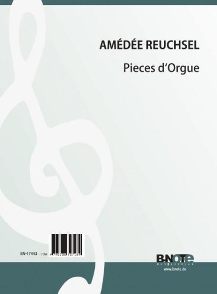 Reuchsel: Pieces d'Orgue - Five pieces for organ