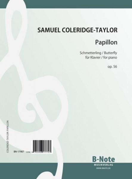 Coleridge-Taylor: Papillon (Schmetterling) für Klavier