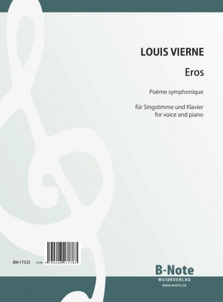 Vierne: Eros – Poème symphonique for voice and piano