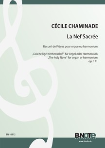 Chaminade: La Nef Sacrée (The holy Nave) for organ or harmonium op.171