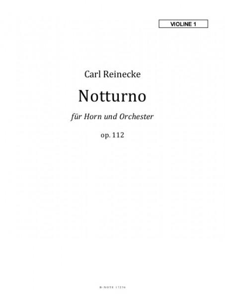 Reinecke: Notturno für Horn und Orchester op.112 (Stimmensatz)