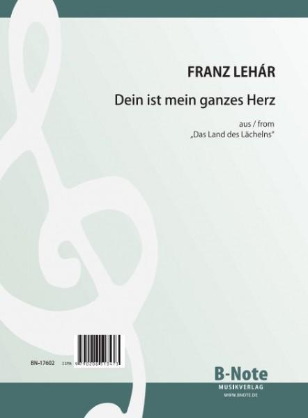 """Lehár: Dein ist mein ganzes Herz from """"The Land of smiles"""""""