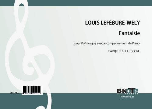 Lefébure-Wely: Fantasie for Poikilorgue and Piano