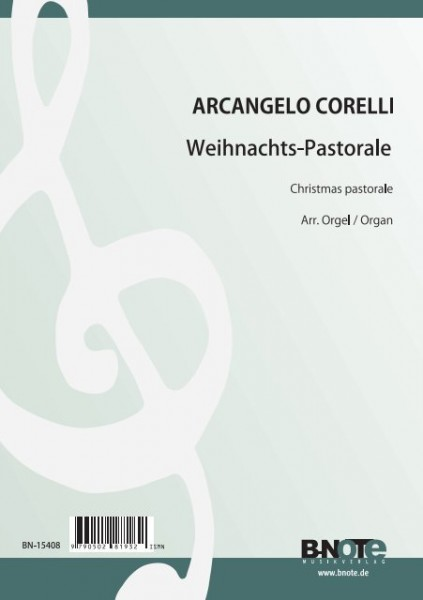 Corelli: Pastorale from Christmas concerto for organ op.8/8 (Arr. organ)