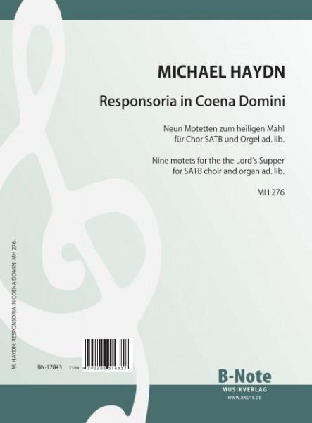 Haydn: Responsoria in Coena Domini – Neun Motetten für Chor SATB MH 276