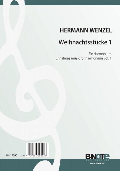Wenzel: Weihnachtsstücke für Harmonium 1