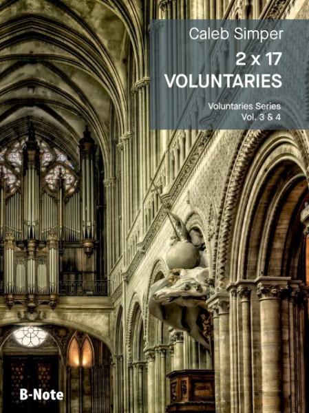 Simper: 2 x 17 Voluntaries for organ (manuals) vol.3/4