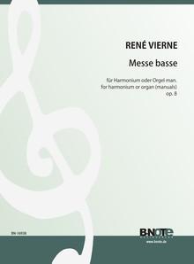 Vierne: Messe basse für Harmonium oder Orgel (man.) op.8