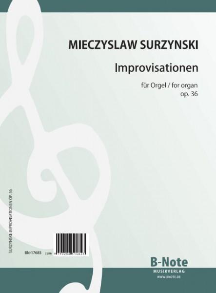 Surzynski: Sieben Improvisationen für Orgel op.36