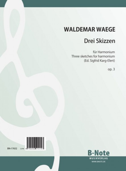 Waege: Three sketches for harmonium op.3