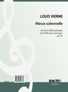 Vierne: Messe solennelle for SATB choir and organ op.16