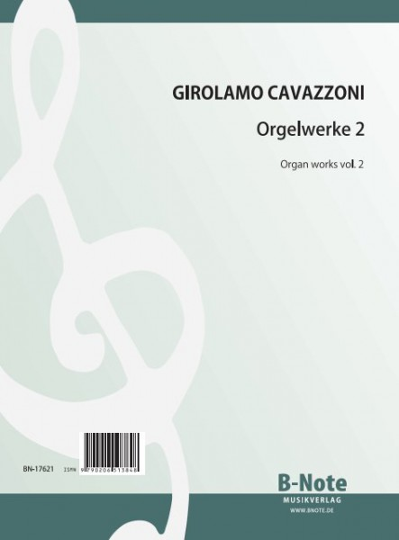 Cavazzoni: Organ works vol.1