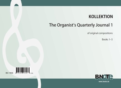 The Organists Quarterly Journal für Orgel Vol.1