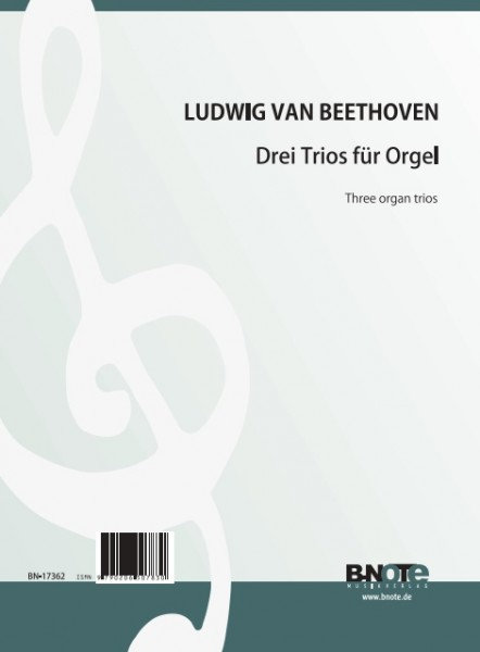 Beethoven: Three organ trios (ed. Charles Tournemire)