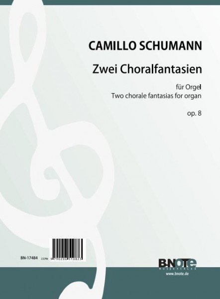 Schumann: Two chorale fantasias for organ op.8