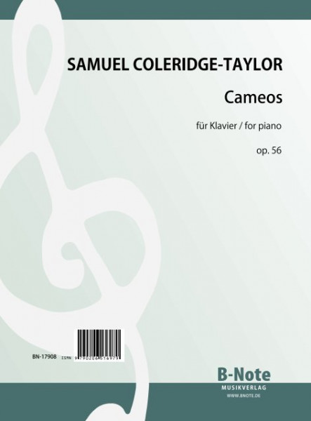 Coleridge-Taylor: Cameos – Drei Stücke für Klavier op.56