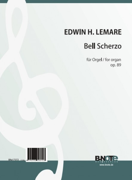 Lemare: Bell Scherzo for organ op.89