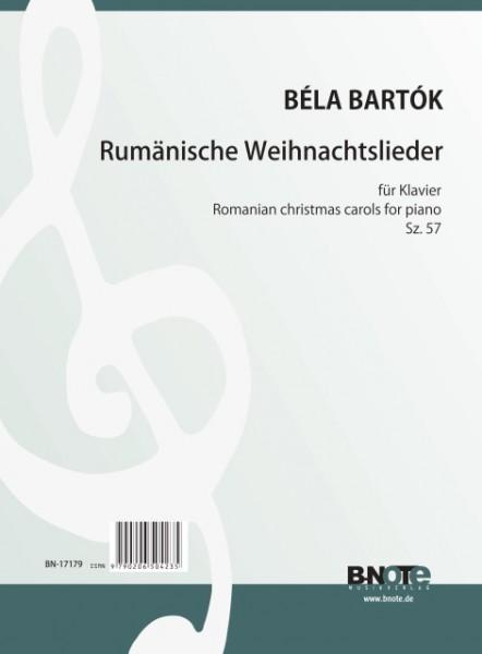Bartók: Rumänische Weihnachtslieder für Klavier Sz.57