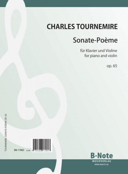 Tournemire: Sonate-Poème für Klavier und Violine op.65