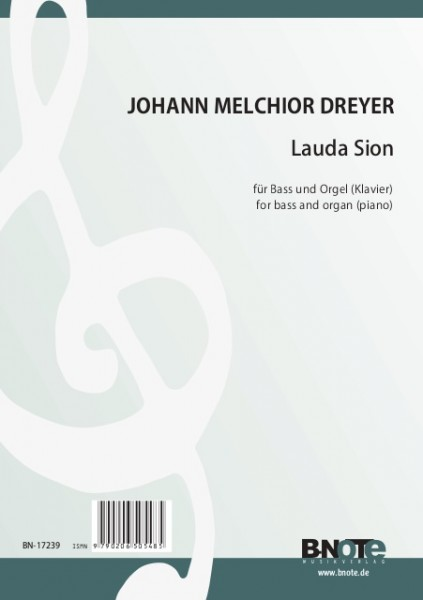 Dreyer: Lauda Sion for bass and organ (piano)