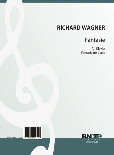 Wagner: Fantasia in f sharp minor for piano
