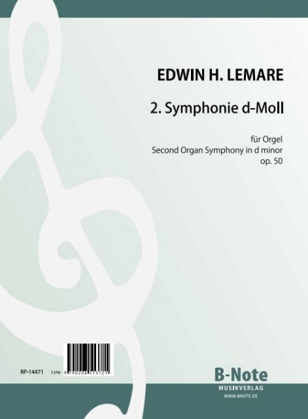 Lemare: 2nd organ symphony in d minor op.50