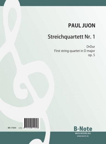 Juon: First string quartet in D major op.5