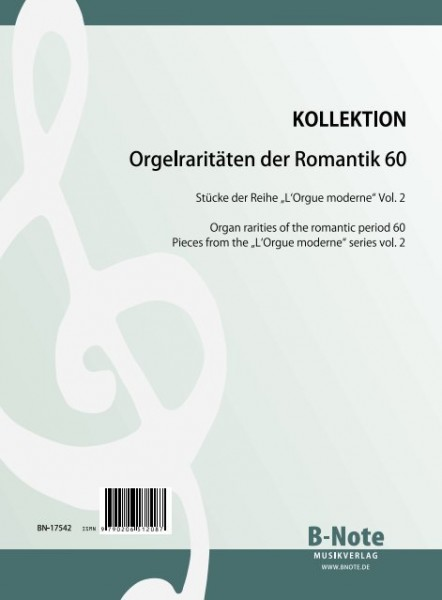 "Diverse: Organ rarities of the romantic period 60: Pieces from ""L'Orgue moderne"" Vol.2"