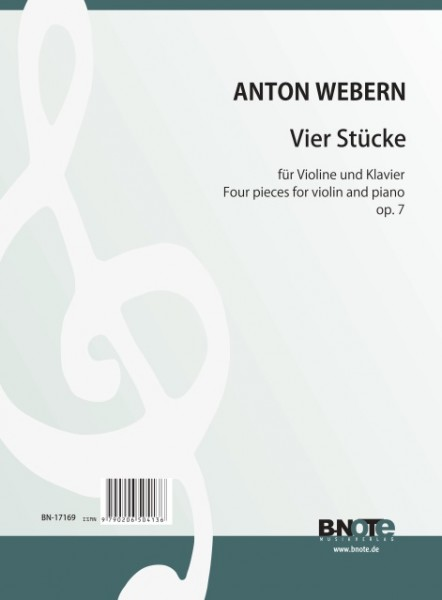 Webern: Four pieces for violin and orchestra