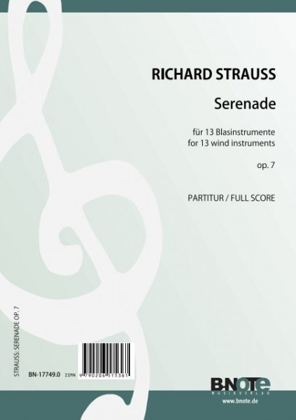Strauss: Serenade für 13 Blasinstrumente op.7