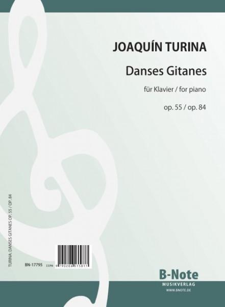 Turina: Danses Gitanes für Klavier op.55 / 84
