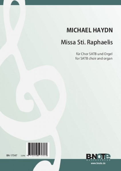 Haydn: Missa Sti. Raphaelis for SATB choir and organ