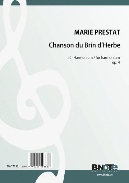 Prestat: Chanson du Brin d'Herbe for harmonium