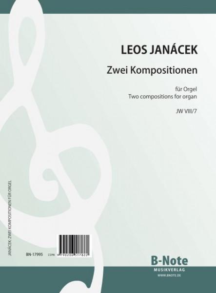 Janácek: Zwei Kompositionen für Orgel