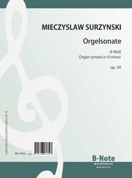 Surzynski: Organ sonata in d minor op.34