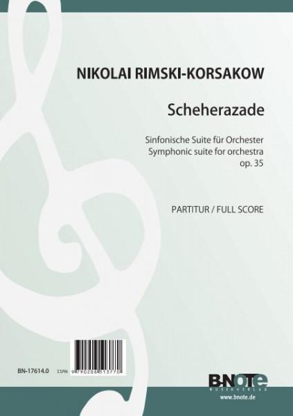 Rimski-Korsakow: Sheherazade – Suite symphonique pour orchestre op.35
