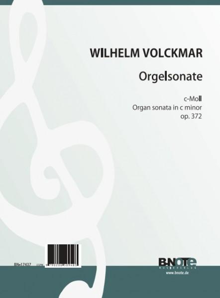 Volckmar: Orgelsonate c-Moll op.372