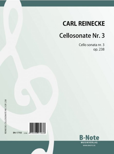 Reinecke: Third sonata for cello and piano in g major op.238