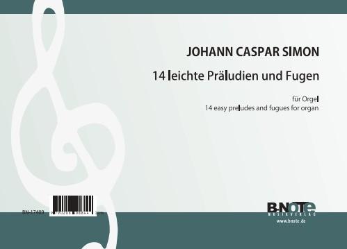 Simon: 14 préludes faciles pour orgue
