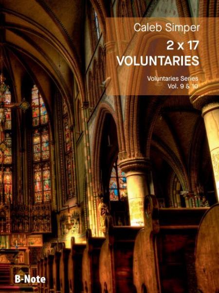 Simper: 2 x 17 Voluntaries für Orgel (man.) Vol. 9/10