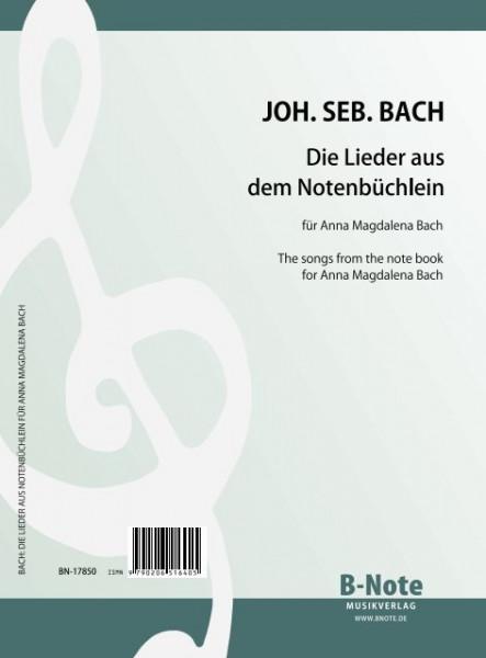 Bach: Die Lieder aus dem Notenbüchlein für Anna Magdalena Bach