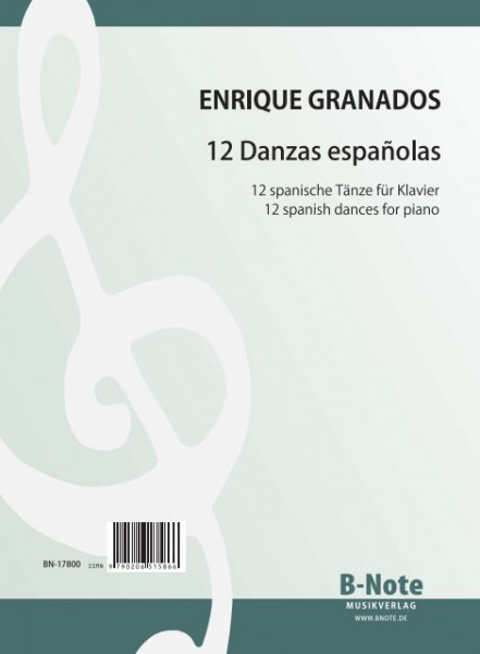 Granados: 12 spanish dances for piano