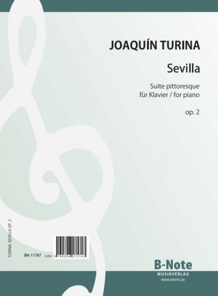 Turina: Sevilla – Suite pittoresque pour piano op.2