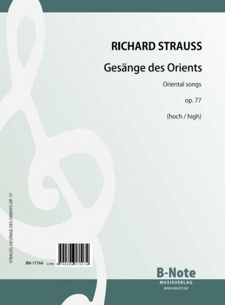Strauss: Fünf Gesänge des Orients op.77
